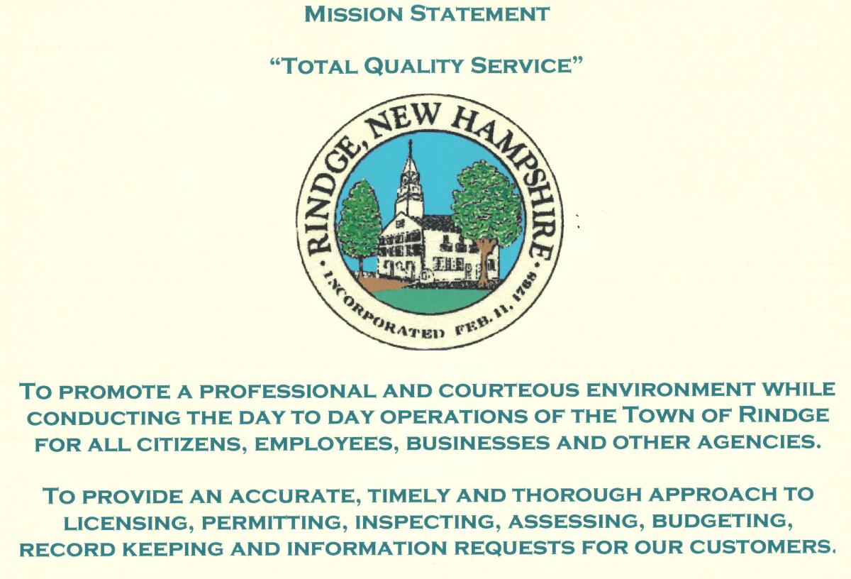 Rindge Mission Statement